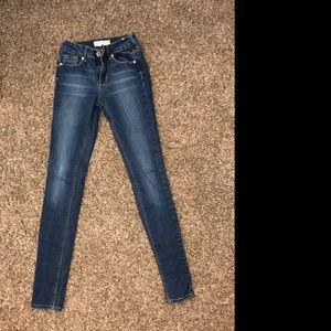 Bullhead high rise skinny jeans